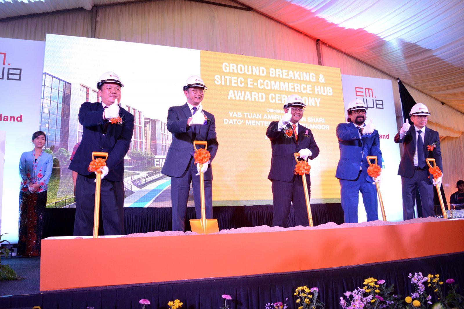 SCland发展有限公司将在哥打白沙罗设立EMHub——全国首个拥有一流基础设施、陈列室、配送中心、零售空间的一站式电商中心,而这将促进电商生态系统及履行人才发展的承诺。